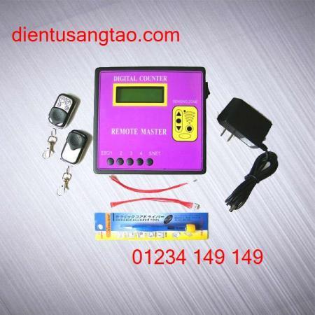 Máy sao chép điều khiển cửa cuốn, máy làm khóa cửa cuốn, máy làm remote